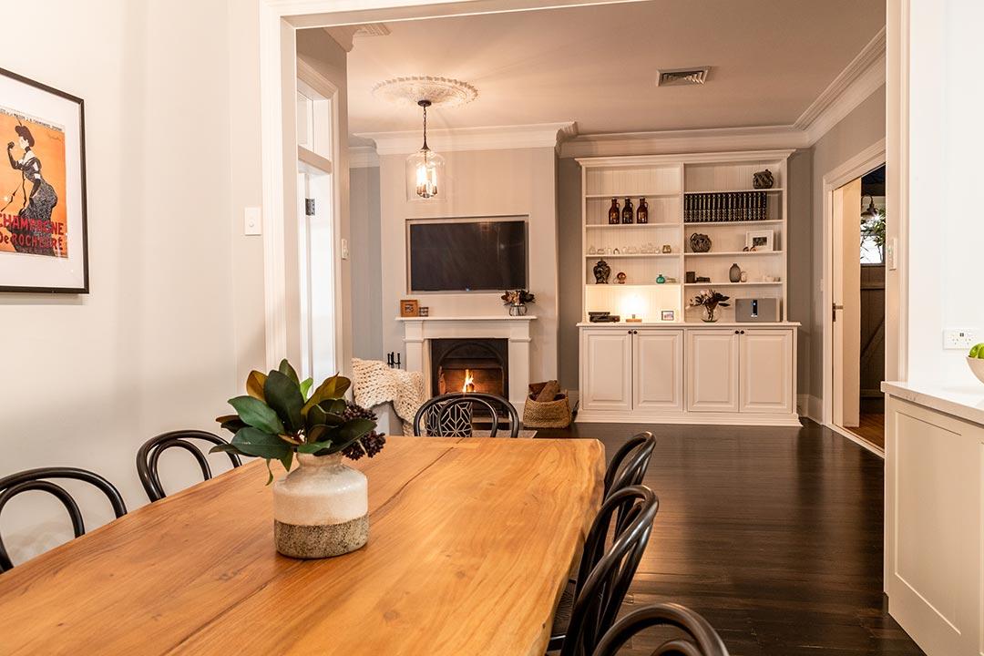 Tv. Interior design project Lang street Mosman